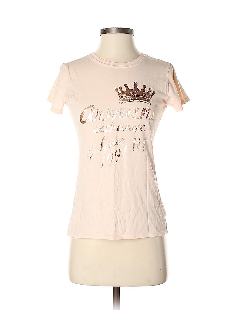 Armani Exchange Women Short Sleeve T-Shirt Size S