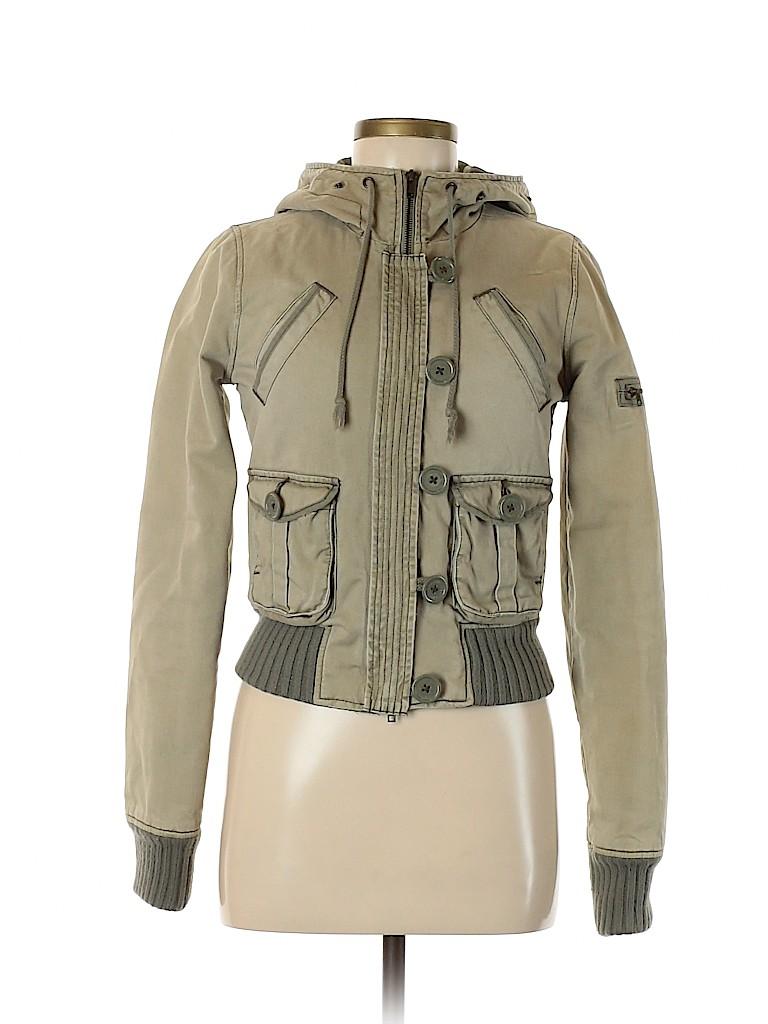 Abercrombie & Fitch Women Coat Size S