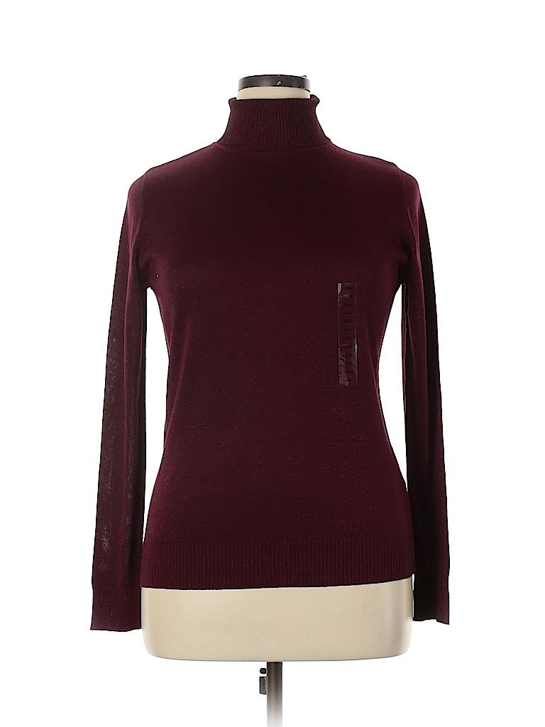 Joseph A. Women Turtleneck Sweater Size L