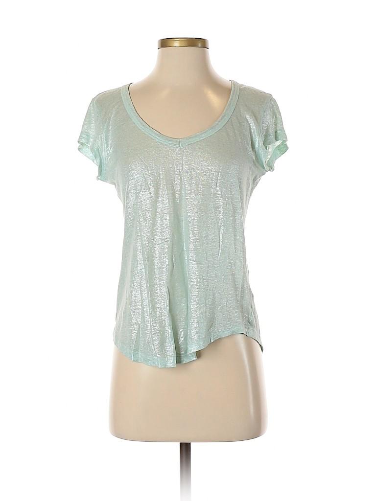 Bordeaux Women Short Sleeve T-Shirt Size S