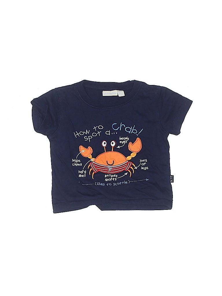JoJo Maman Bebe Boys Short Sleeve T-Shirt Size 12-18 mo