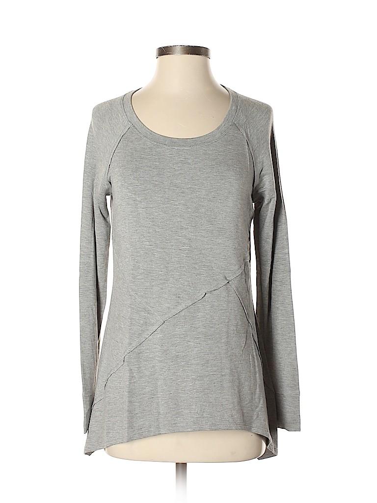 Simply Vera Vera Wang Women Long Sleeve Top Size S