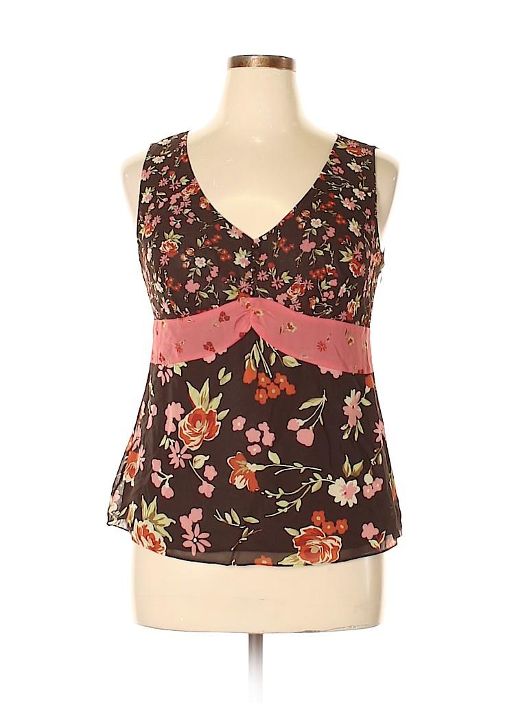 Ann Taylor LOFT Women Sleeveless Blouse Size 14