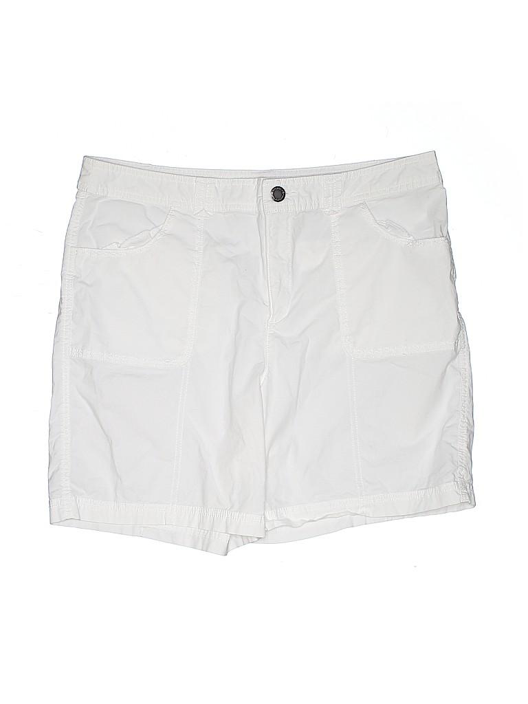 Kim Rogers Women Khaki Shorts Size 14