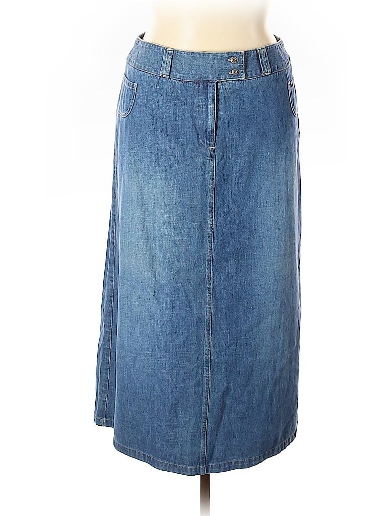 Sag Harbor Women Denim Skirt Size 16