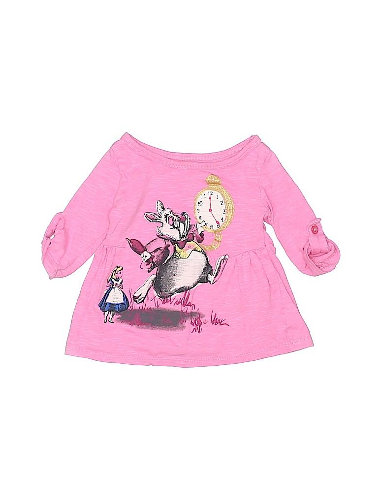 Disney Girls 3/4 Sleeve Top Size 12 mo