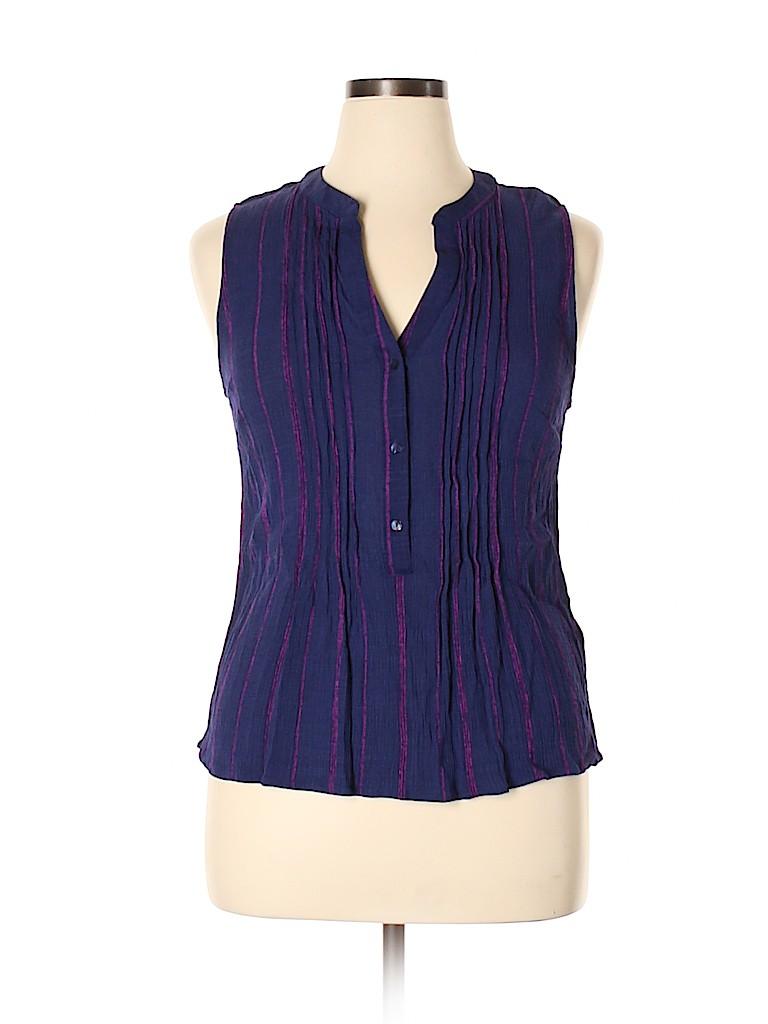 Market and Spruce Women Sleeveless Blouse Size XL