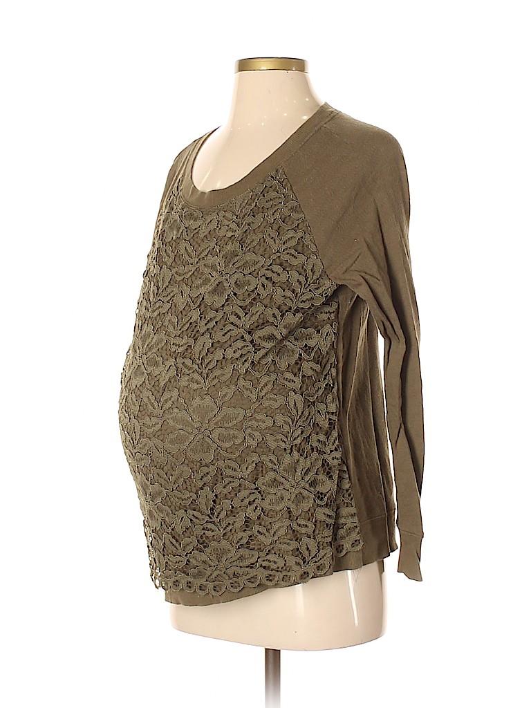 Ann Taylor LOFT Women Sweatshirt Size S (Maternity)
