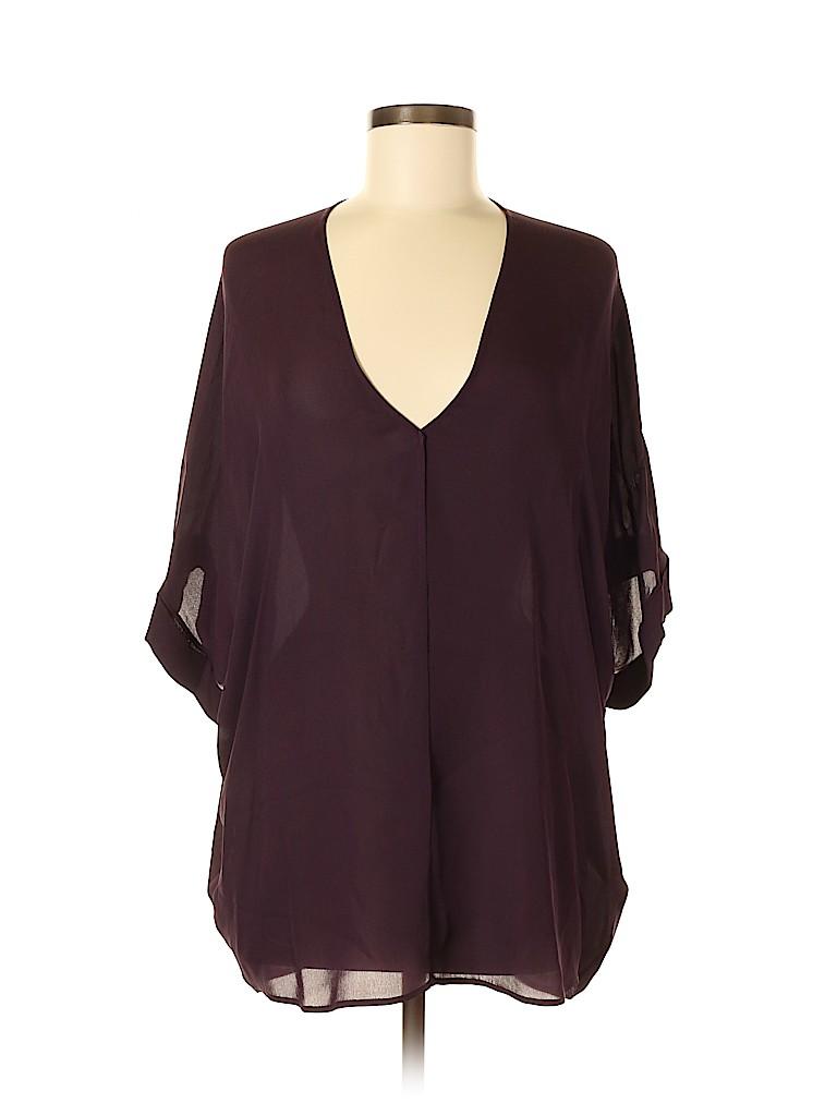 Vince. Women Short Sleeve Blouse Size M
