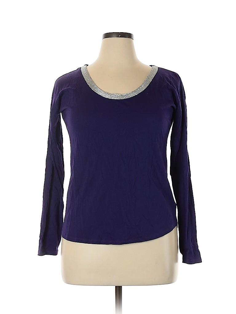 MICHAEL Michael Kors Women Long Sleeve Top Size L