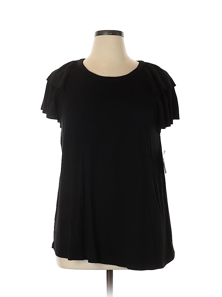 Chelsea28 Women Short Sleeve Top Size XL