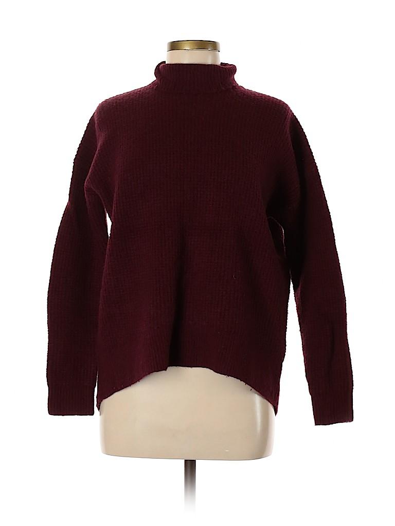 Madewell Women Turtleneck Sweater Size M