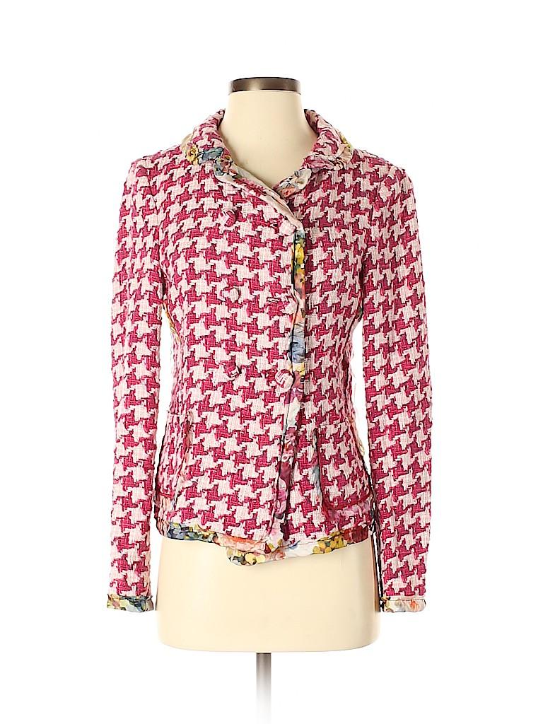 D&G Dolce & Gabbana Women Silk Blazer Size 40 (IT)