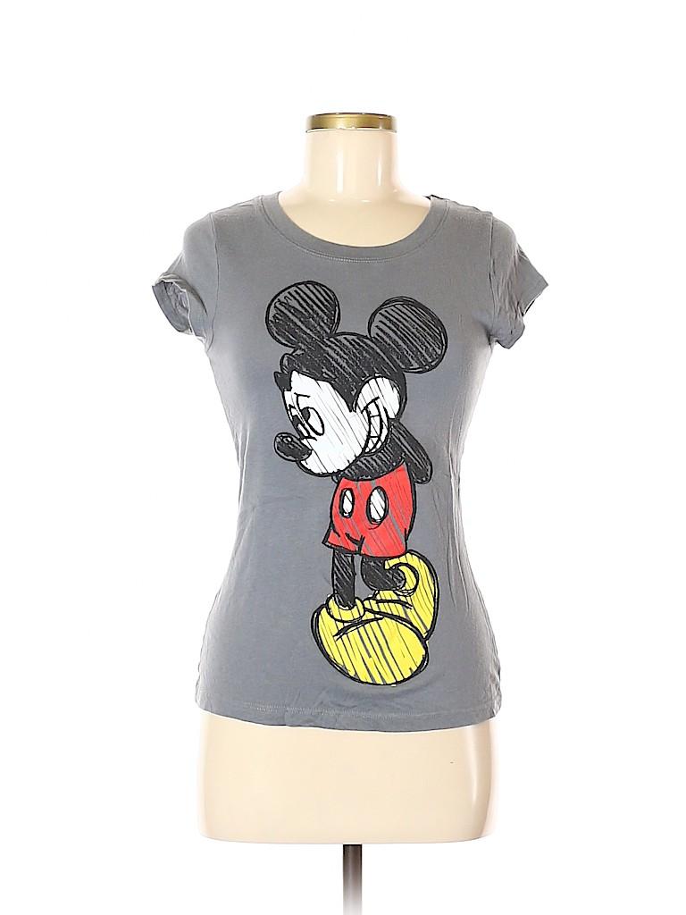 Disney Women Short Sleeve T-Shirt Size M