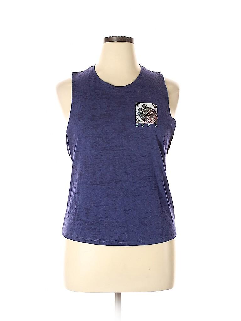 Roxy Women Sleeveless T-Shirt Size XL