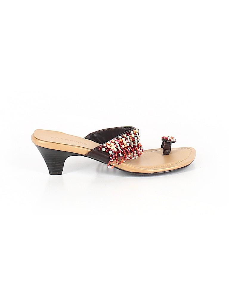 Ann Marino Women Flip Flops Size 7 1/2