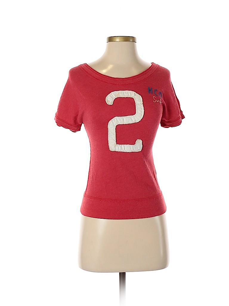Hollister Women Short Sleeve Top Size XS
