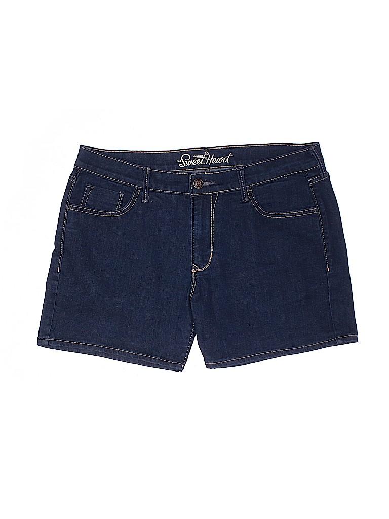 Old Navy Women Denim Shorts Size 17