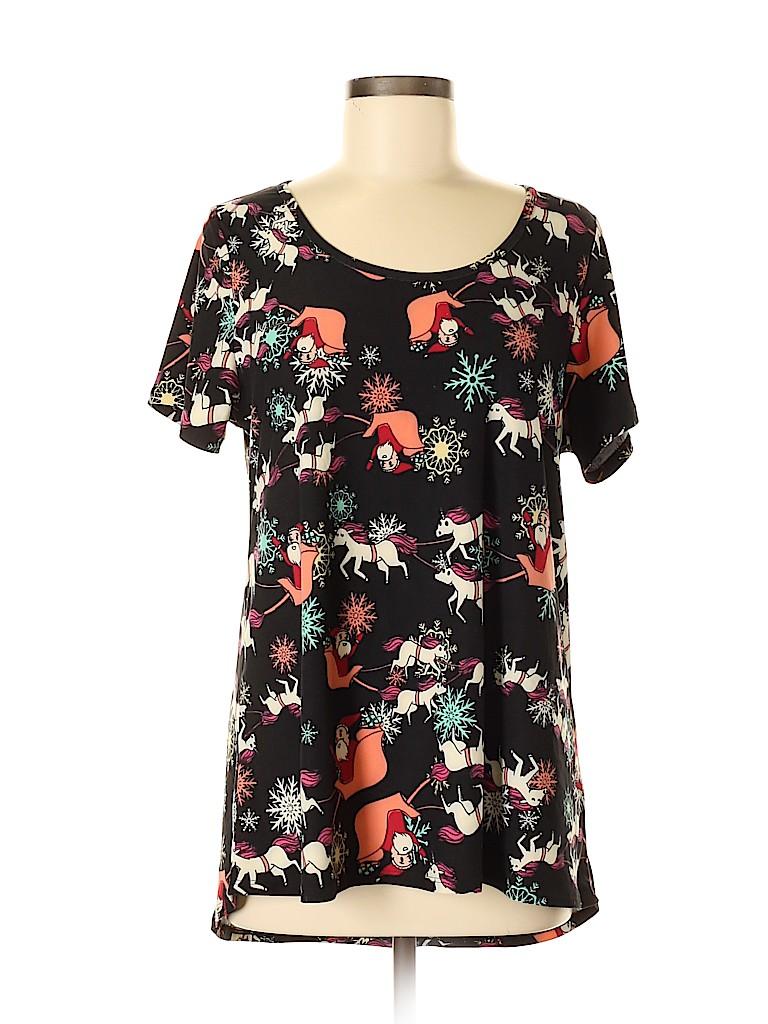 Lularoe Women Short Sleeve T-Shirt Size M