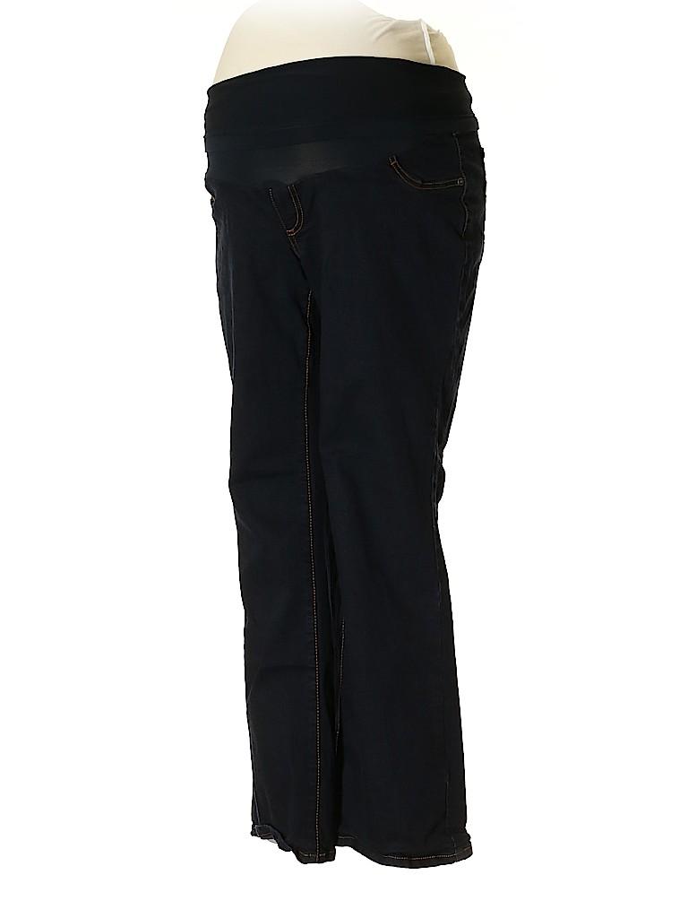 Indigo Blue Women Jeans Size 1X (Maternity)
