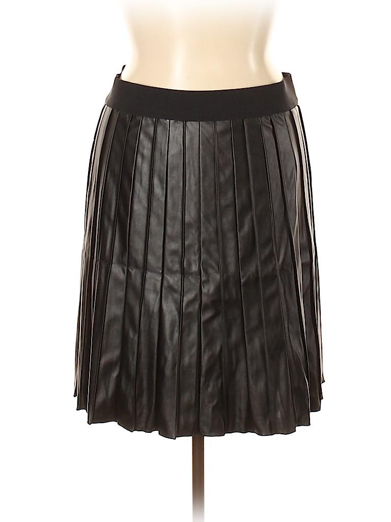 Alfani Women Faux Leather Skirt Size 16