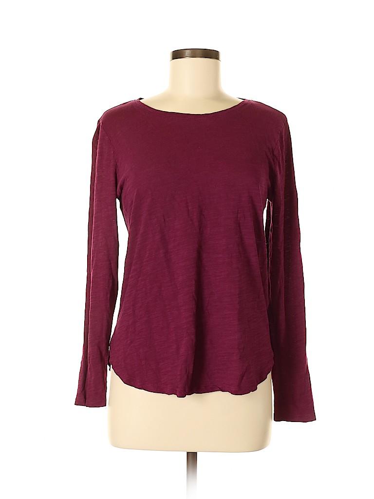 Banana Republic Factory Store Women Long Sleeve T-Shirt Size M