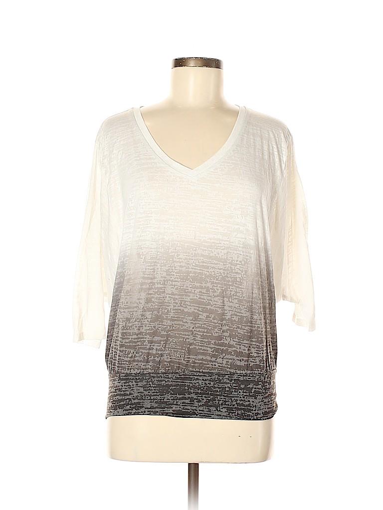 Ideology Women 3/4 Sleeve T-Shirt Size M