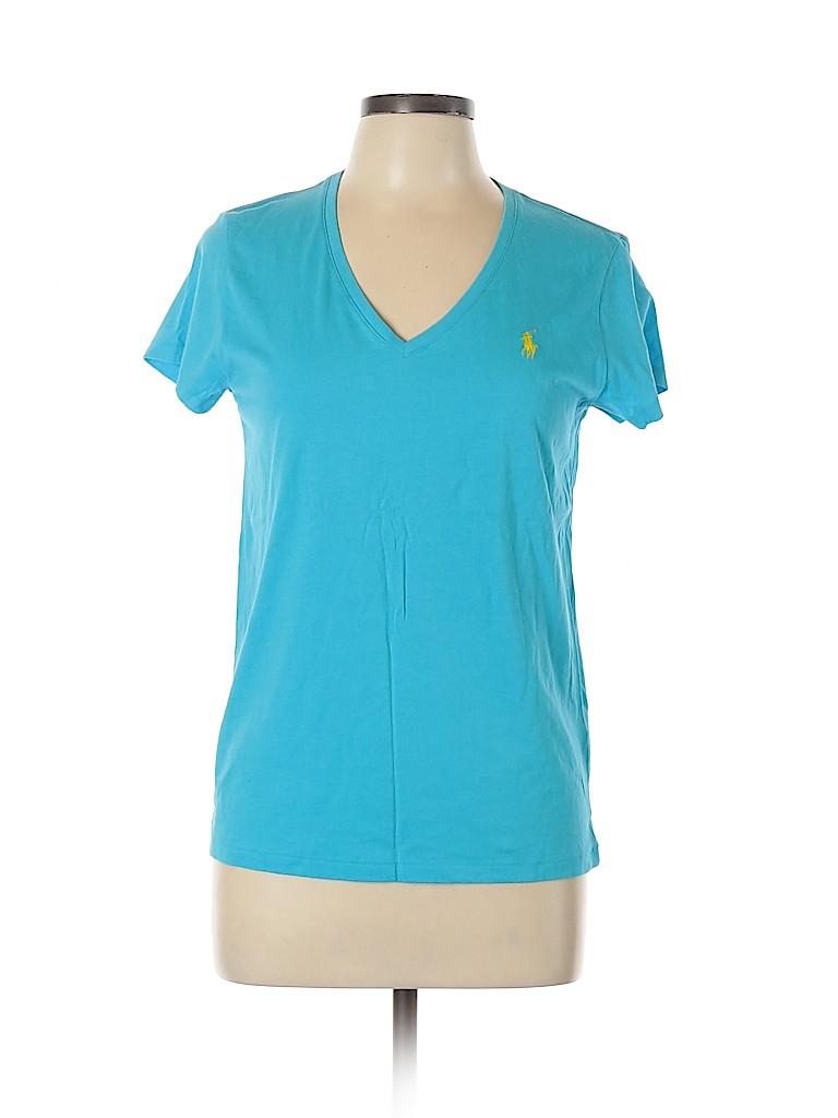 Polo by Ralph Lauren Women Short Sleeve T-Shirt Size L