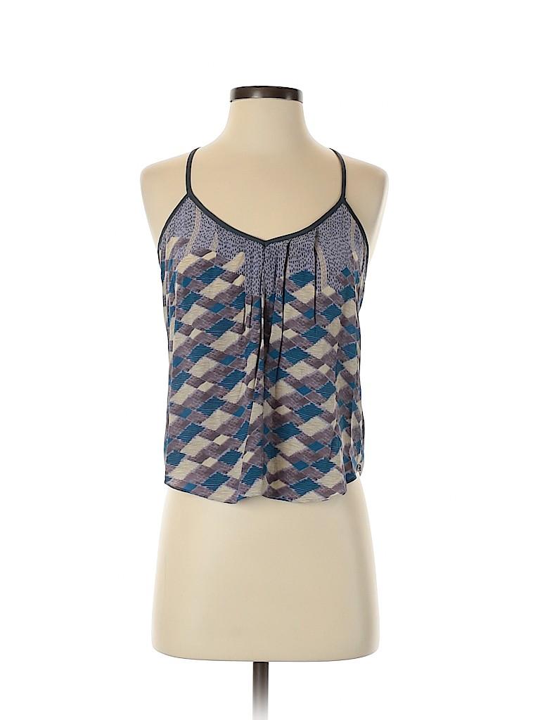 Kimchi Blue Women Sleeveless Silk Top Size S