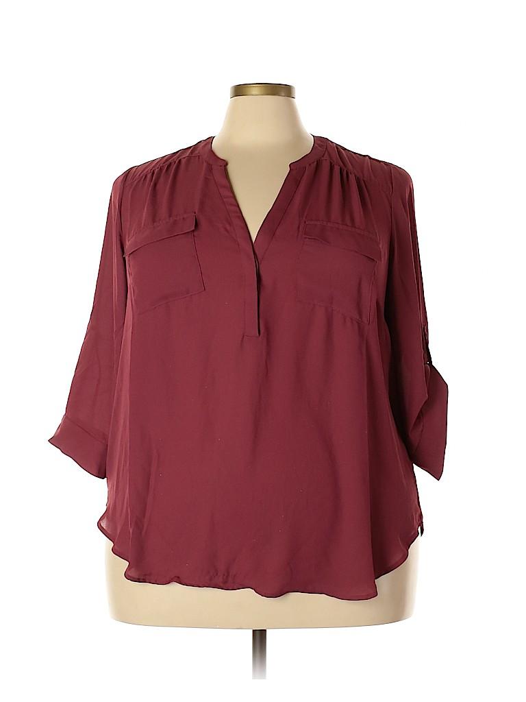 Torrid Women 3/4 Sleeve Blouse Size 2X Plus (2) (Plus)