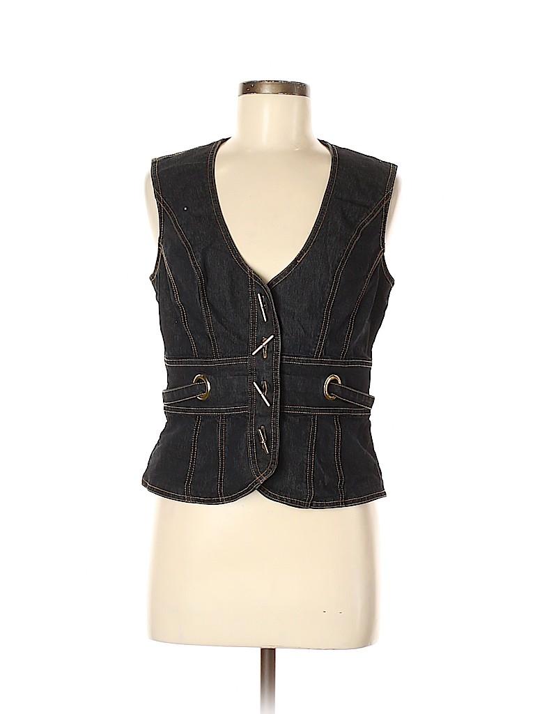 Bisou Bisou Women Denim Jacket Size M