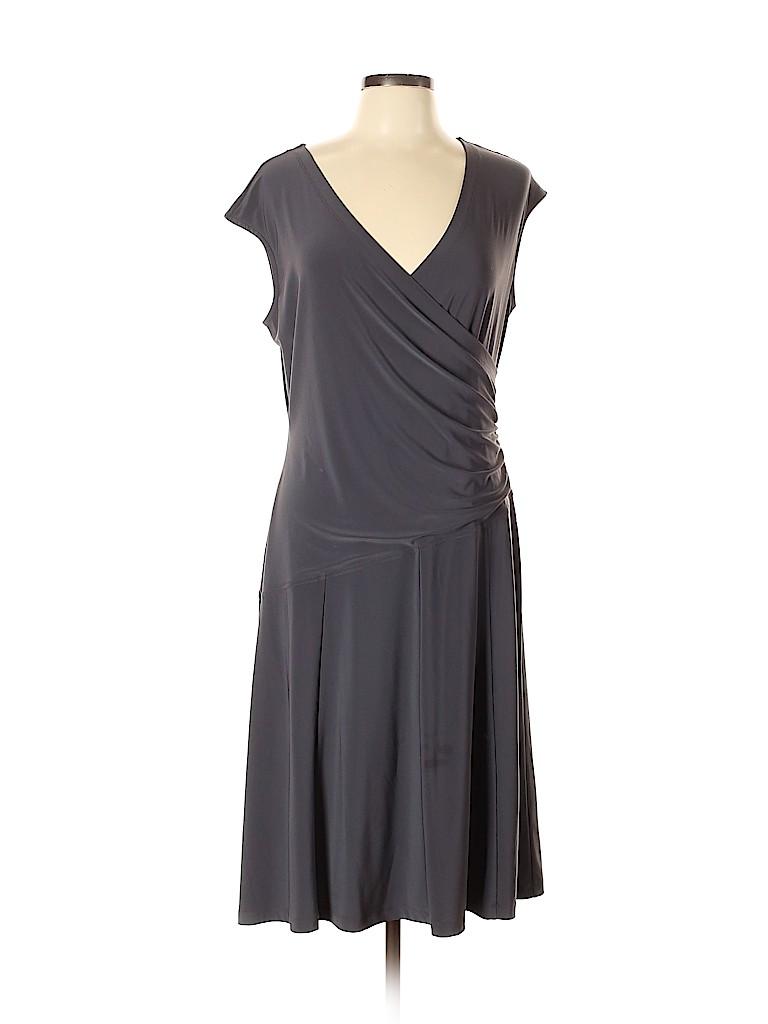 Nic + Zoe Women Casual Dress Size L