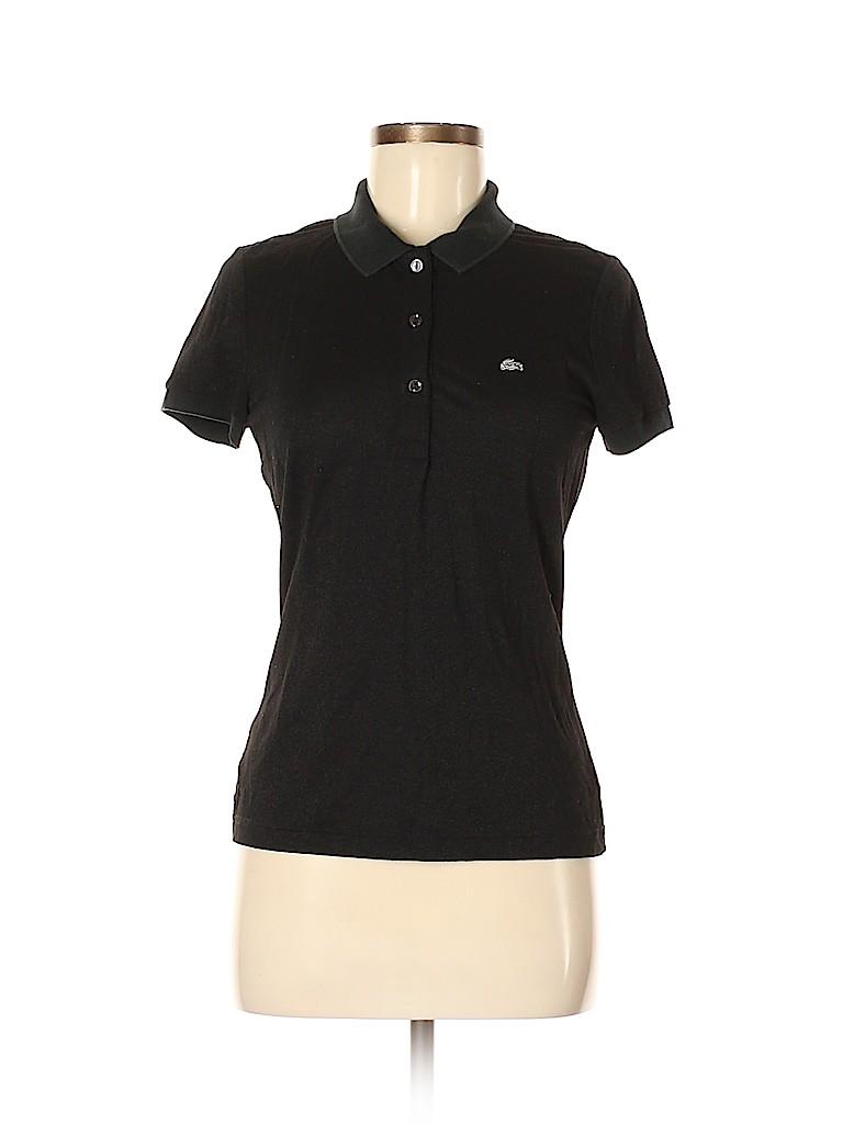 Lacoste Women Short Sleeve Polo Size 40 (EU)