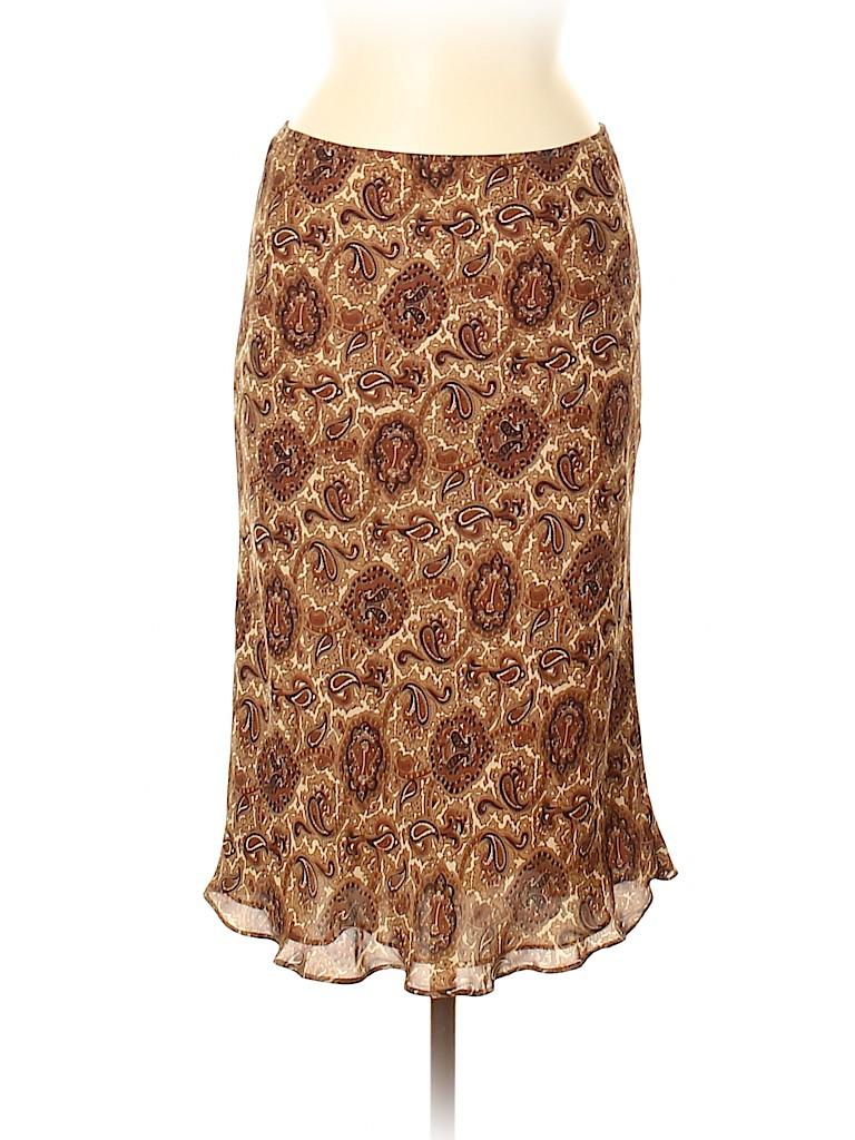 MICHAEL Michael Kors Women Silk Skirt Size 6