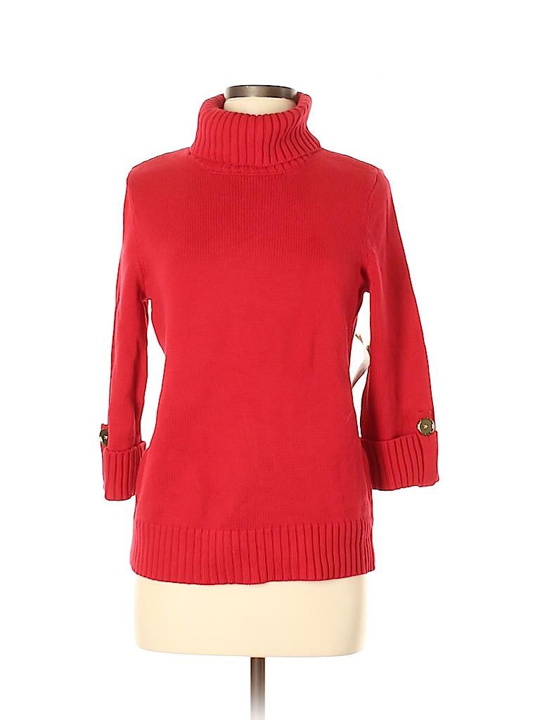 Jones New York Women Turtleneck Sweater Size M