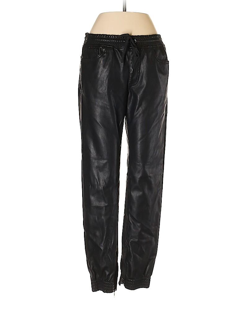 Bullhead Women Faux Leather Pants Size S