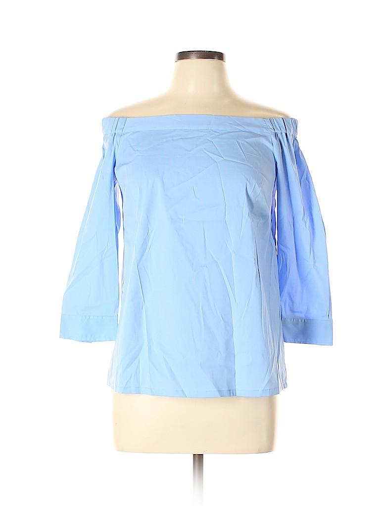 14th & Union Women 3/4 Sleeve Blouse Size S