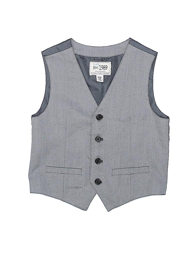 The Children's Place Boys Tuxedo Vest Size 7 - 8