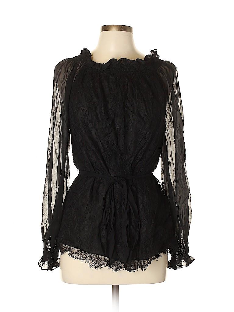 Badgley Mischka Women Long Sleeve Blouse Size XL