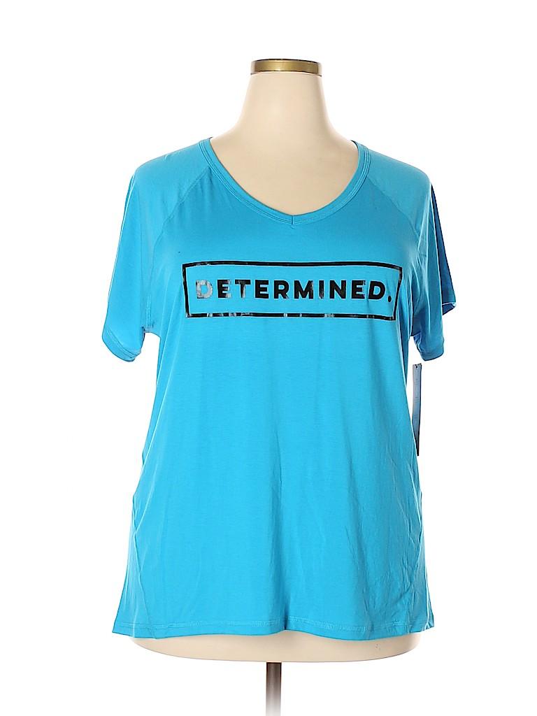 Ideology Women Active T-Shirt Size 2X (Plus)