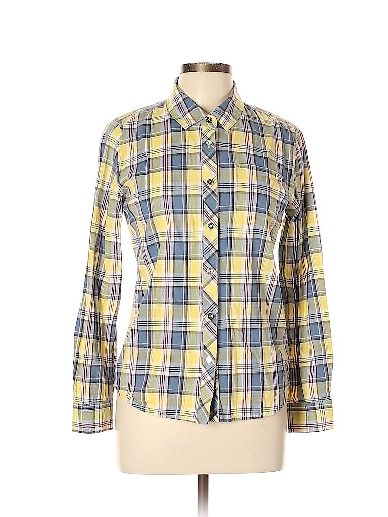 Buffalo by David Bitton Women Long Sleeve Button-Down Shirt Size L