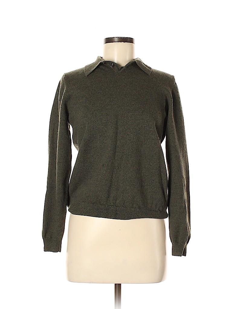 Eddie Bauer Women Wool Pullover Sweater Size L