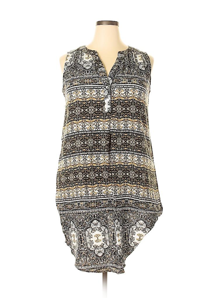 One World Women Casual Dress Size 1X (Plus)