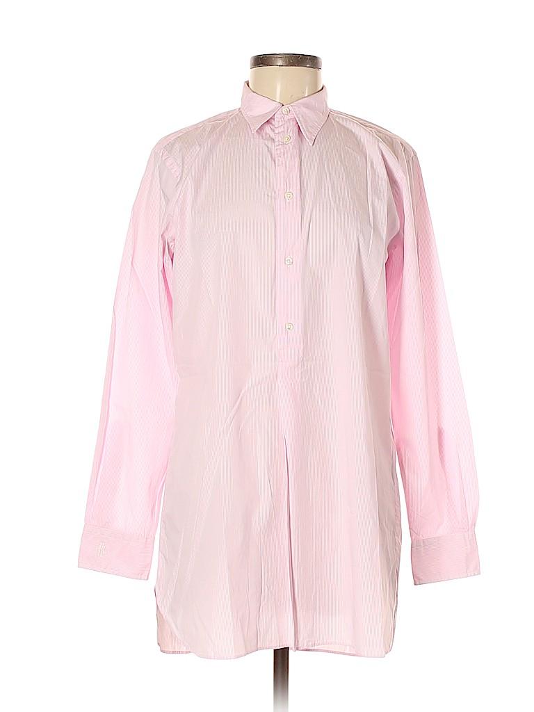 Polo by Ralph Lauren Women Long Sleeve Button-Down Shirt Size 8