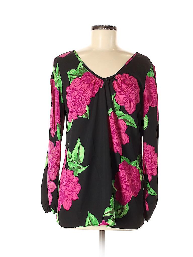 Pink Owl Women 3/4 Sleeve Blouse Size M