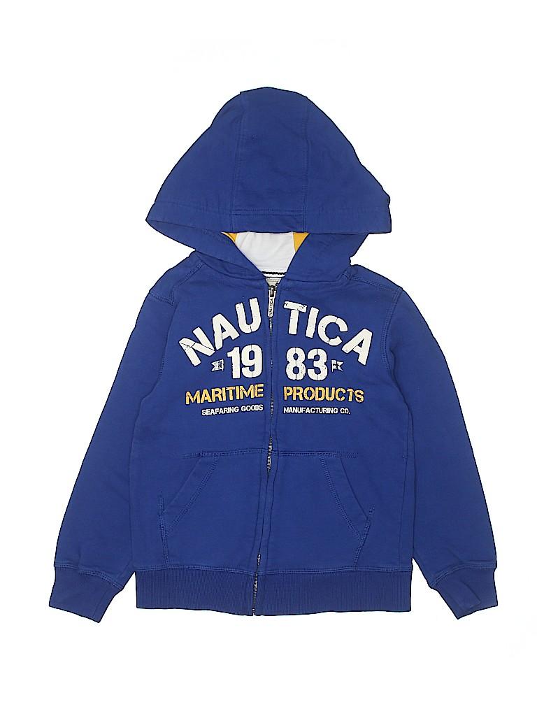 Nautica Boys Zip Up Hoodie Size 7