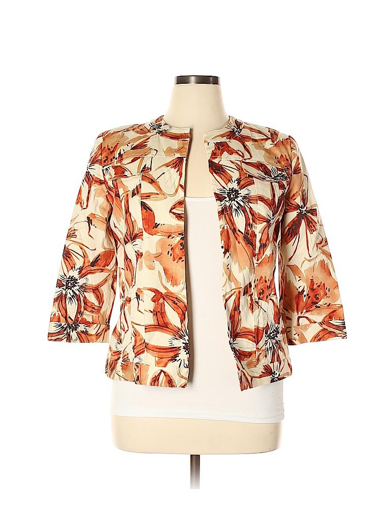Alfred Dunner Women Jacket Size 16 (Petite)
