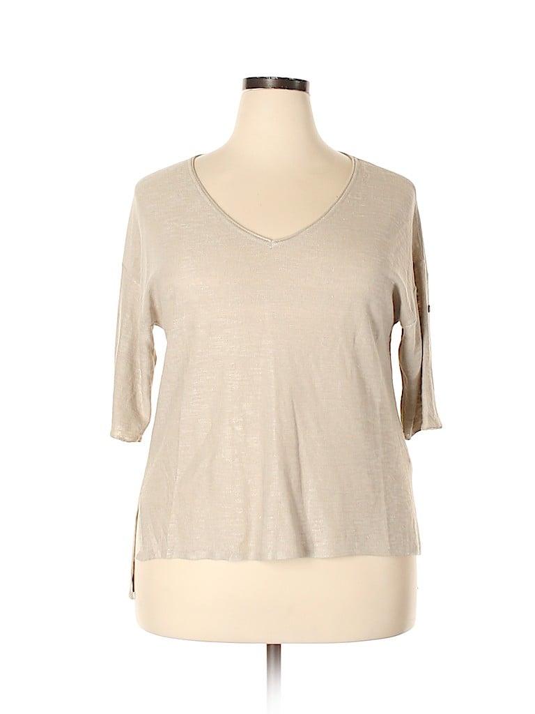 J.jill Women Pullover Sweater Size 1X (Plus)