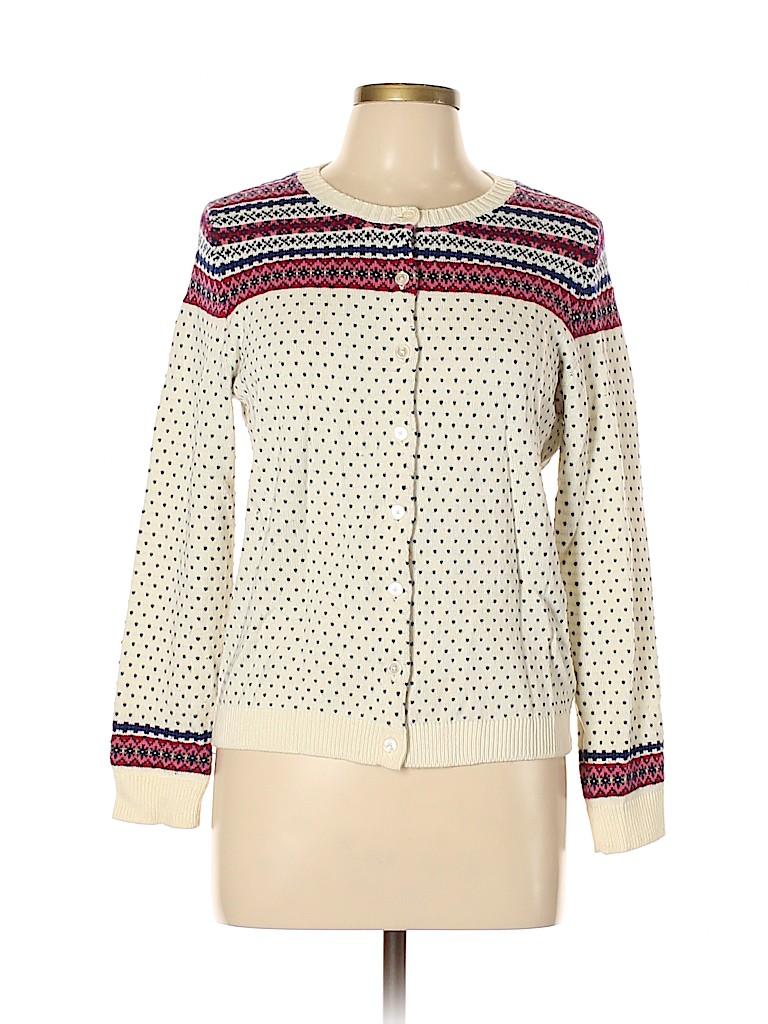 Talbots Women Cardigan Size L (Petite)