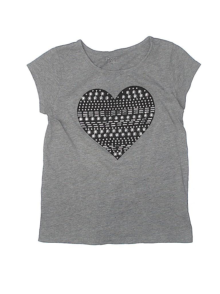 The Children's Place Girls Short Sleeve T-Shirt Size 10/12